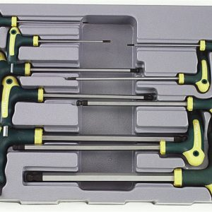 10pc Hex ball point grip key set