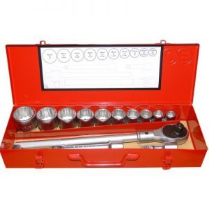 14pc Socket set